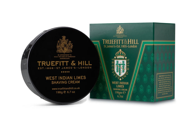 Truefitt & Hill barberkrem i skål - West Indian Limes Barberkrem i skål Truefitt & Hill