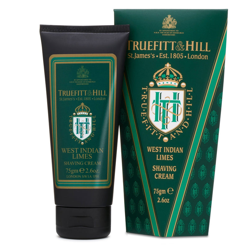 Truefitt & Hill barberkrem i tube - West Indian Limes Barberkrem i tube Truefitt & Hill