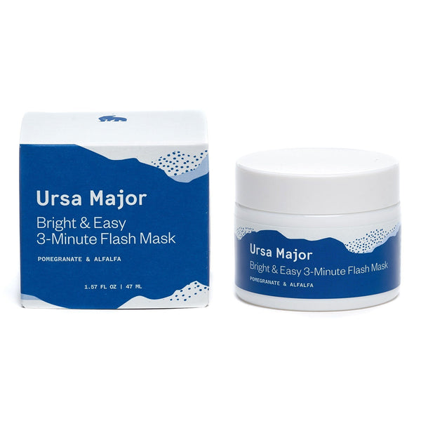 Ursa Major Bright & Easy 3-Minute Flash Mask ansiktsmaske Ansiktsmaske Ursa Major
