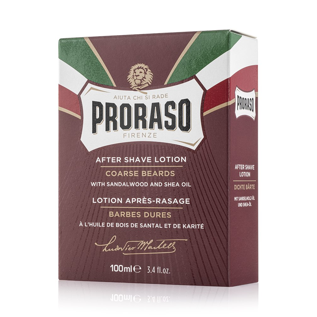 Proraso Aftershave Lotion etterbarberingsvann - Sandeltre