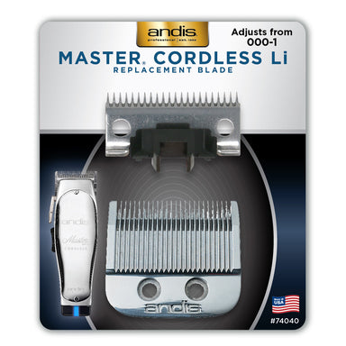 Andis Master Cordless Replacement Blade -  000-1