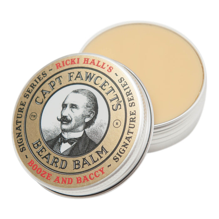 Captain Fawcett's Ricki Hall Booze & Baccy Beard Balm