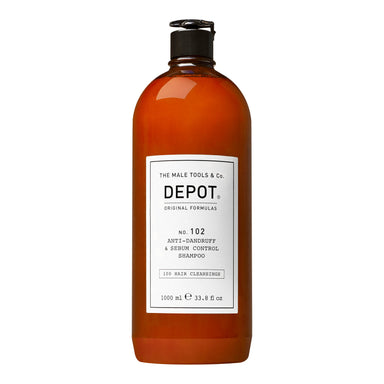Depot No. 102 Anti-Dandruff & Sebum Control Shampoo - Salongstørrelse