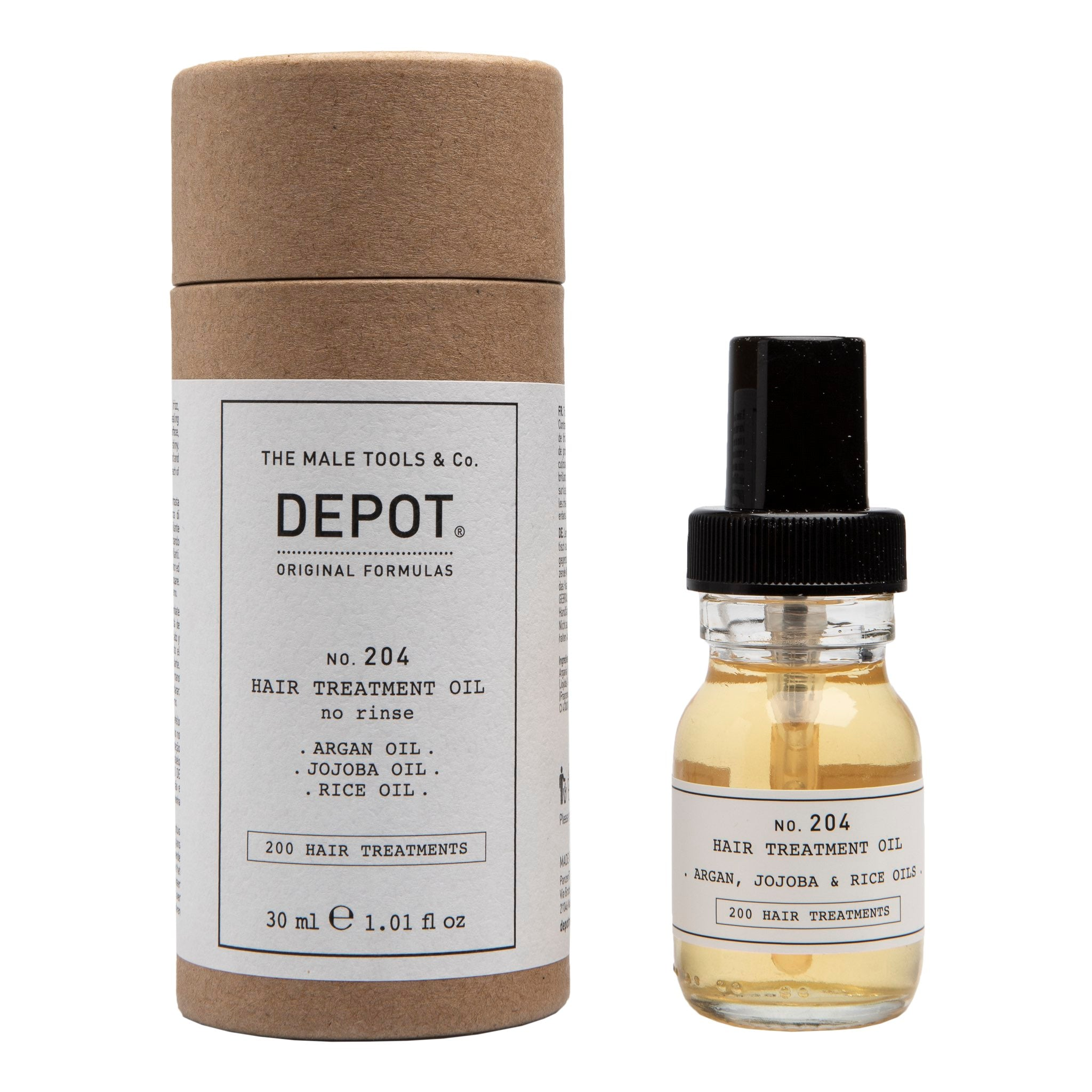 Depot No. 204 Hair Treatment Oil hårolje