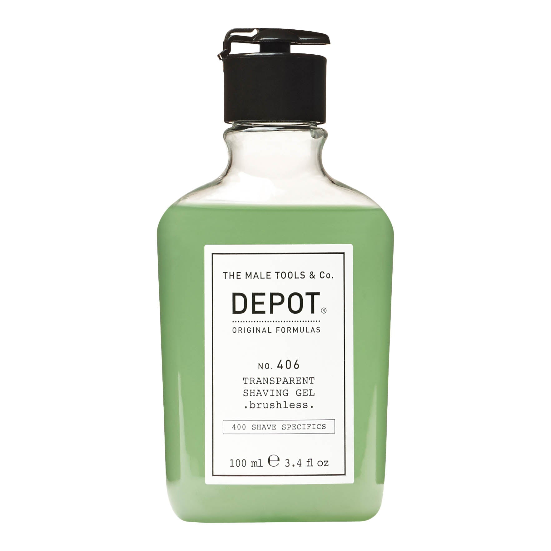Depot No. 406 Transparent Shaving Gel