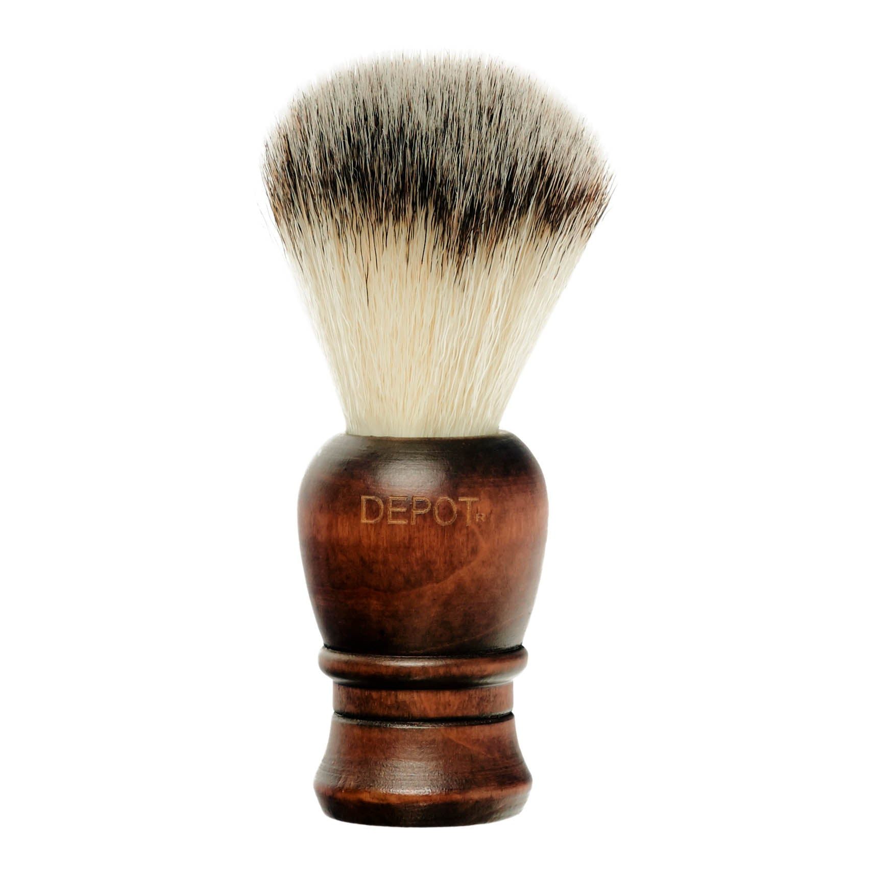Depot No. 730 Wooden Shaving Brush
