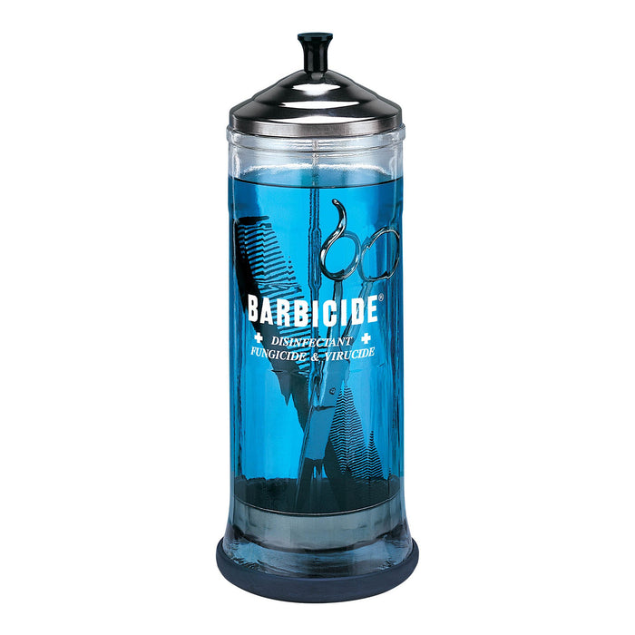 Barbicide glasskrukke - 1100 ml
