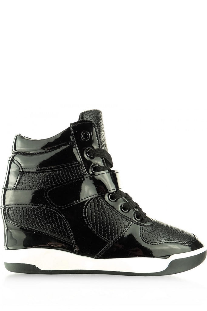 Wedge heel sneakers model 44679 Inello