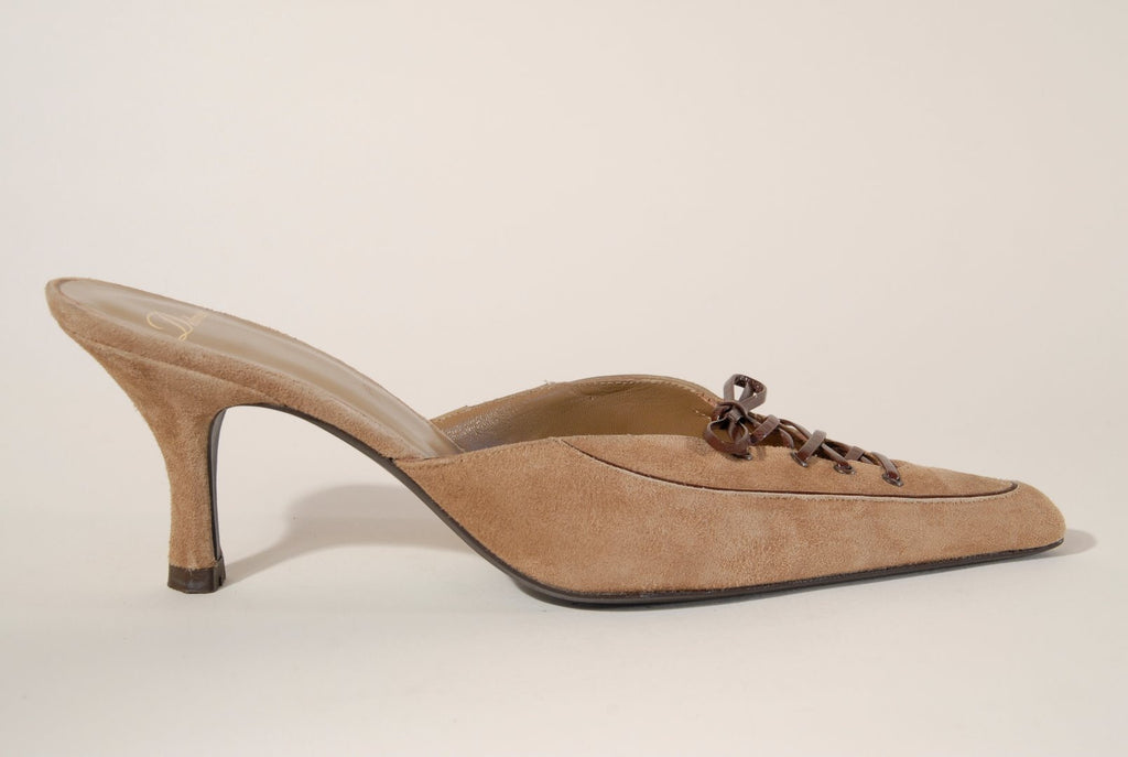 Delman Vintage Women Shoes Mules