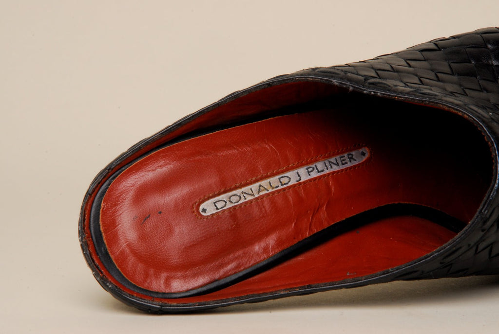 Donald J Pliner Norte S4 Slippers Weave Leather