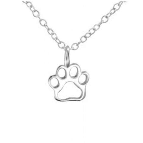 Paw Print Necklace - Sparkily Ever After