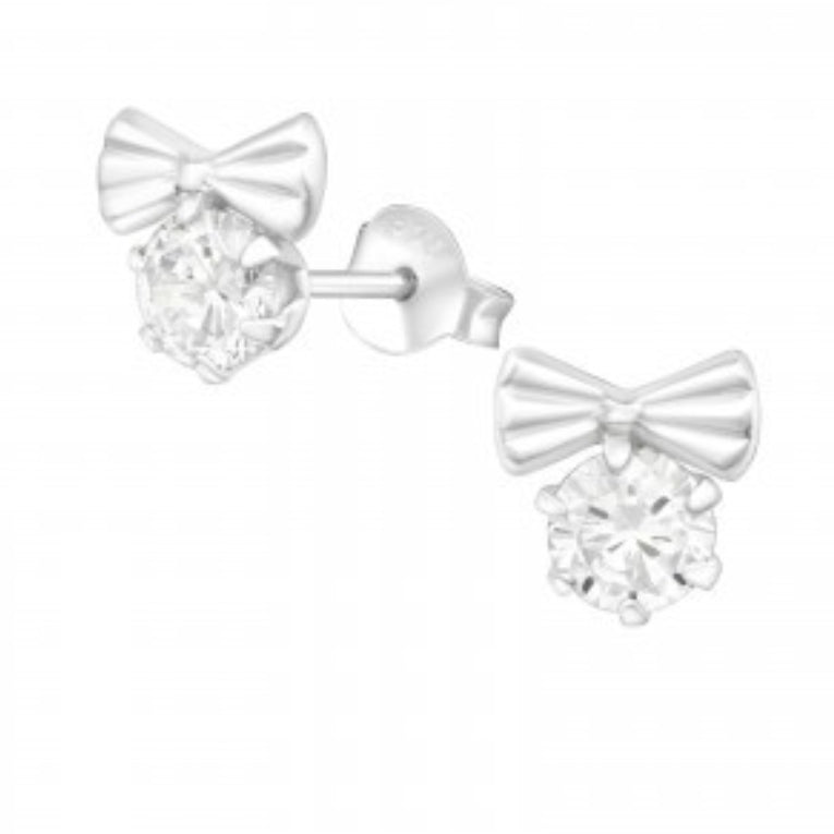 Crystal Bow Earrings - Sparkily Ever After
