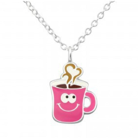 Hot Drink Necklace - Sparkily Ever After
