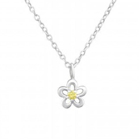 Flower Necklace - Sparkily Ever After