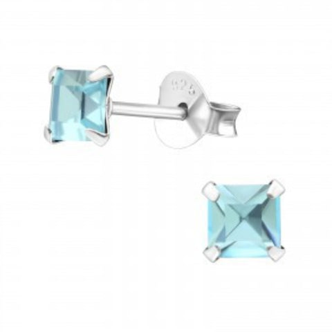 Aquamarine Studs - Sparkily Ever After