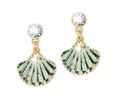 Ariel Shell Earrings - Sparkily Ever After
