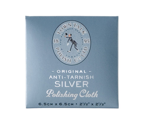 Anti-Tarnish Silver Cleaning Cloth - Sparkily Ever After