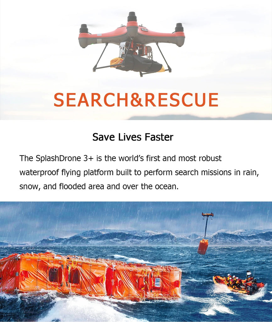Drone Addiction - Swellpro 3+ Search and Rescue - Image 1