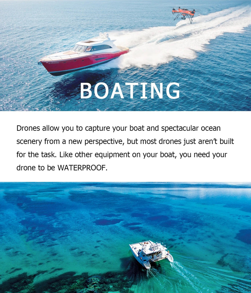 Drone Addiction - Swellpro 3+ Boating - Image 1