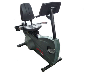 Life Fitness 9500HR Recumbent Bike Refurbished - Fitness Equipment Broker Title | Fitness Equipment Broker - commercial recumbent exercise bike, pre owned exercise bike, professional spin bike