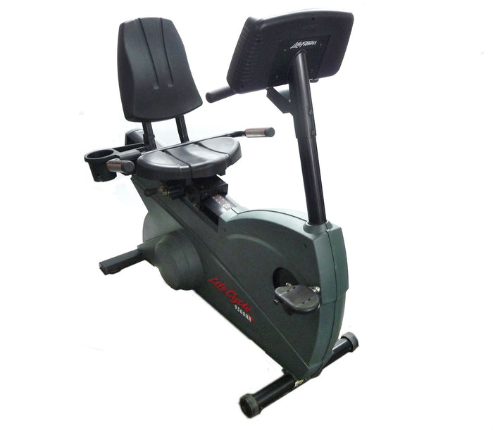Life Fitness 9500HR Recumbent Bike Refurbished
