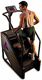 StairMaster 7000 PT Stepmill Black Console Refurbished