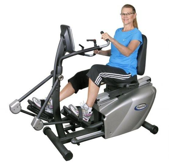 HCI Physiostep LTD Recumbent Elliptical Cross Trainer