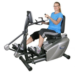 HCI Physiostep LTD Recumbent Elliptical Cross Trainer - Fitness Equipment Broker Title | Fitness Equipment Broker - commercial recumbent exercise bike, pre owned exercise bike, professional spin bike