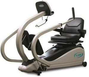 NuStep TRS 4000 T4 Recumbent Stepper Certified Pre Owned - Fitness Equipment Broker | Fitness Equipment Broker - commercial recumbent exercise bikes, pre owned TRS 4000, NuStep TRS 4000 used for sale