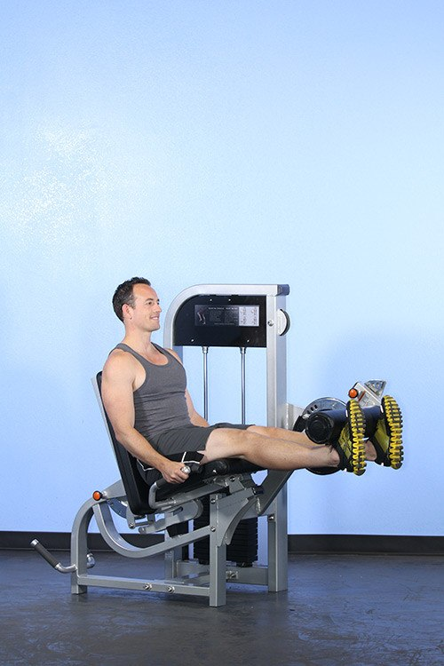 MuscleD Leg Extension / Leg Curl Combo