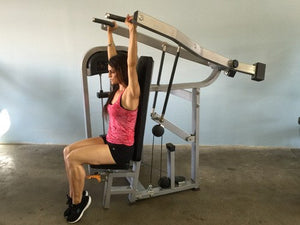 MuscleD Selectorized Shoulder Press