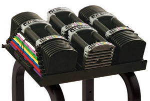 PowerBlock Commercial Club U-90 Dumbbell Set with Stand