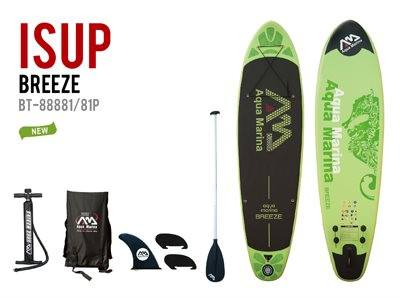 Aqua Marina Breeze Inflatable Stand Up Paddle Board Package - Fitness Equipment Broker | Voted America's #1 Trusted Source