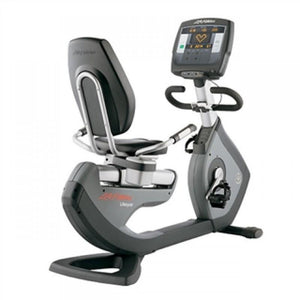 Life Fitness 95R Achieve Recumbent Bike Refurbished - Fitness Equipment Broker | Voted America's #1 Trusted Source | Fitness Equipment Broker - commercial recumbent exercise bike, pre owned exercise bike, professional spin bike