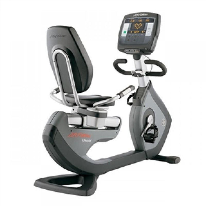 Life Fitness 95R Achieve Recumbent Bike Refurbished