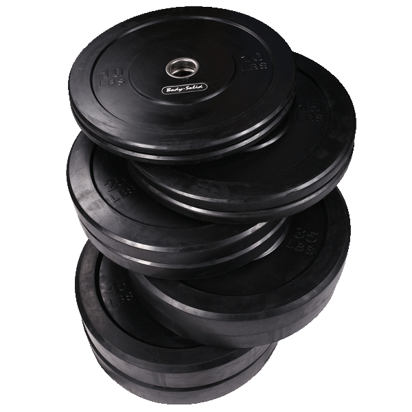260 lb. Olympic Rubber Bumper Plate Set
