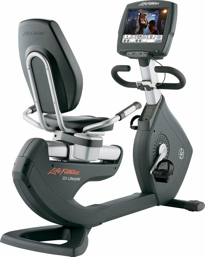 Life Fitness Discover SE 95R Elevation Recumbent Bike (Refurbished)