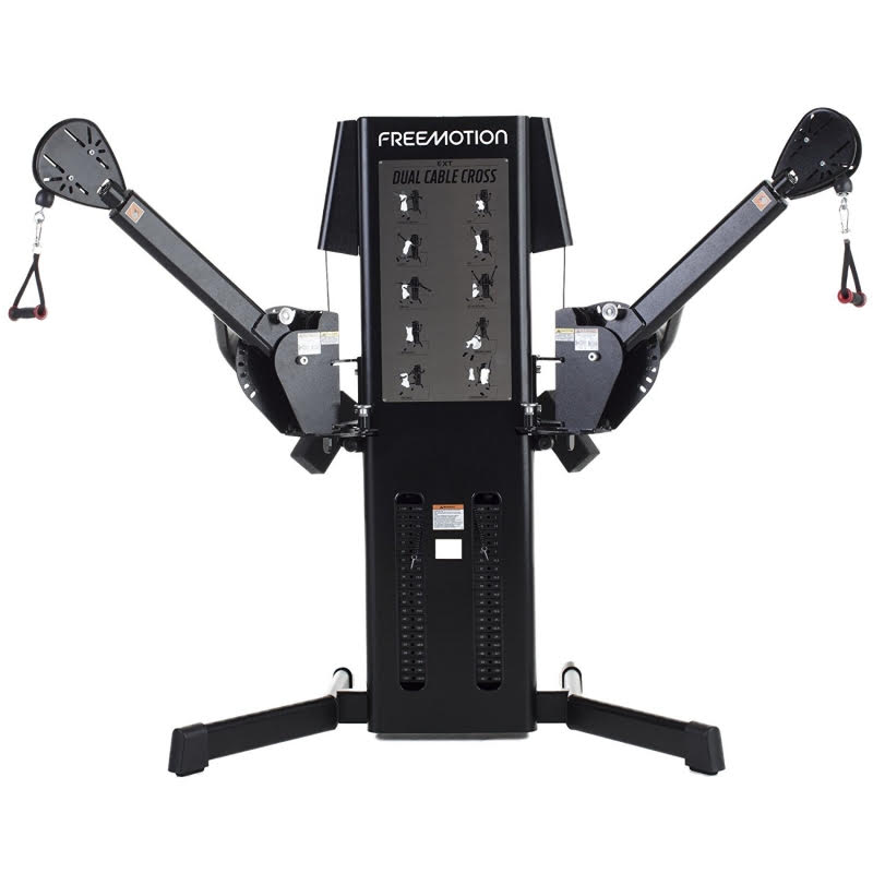 Freemotion Light Commercial Ext Dual Cable Cross Fitness