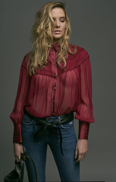BELGRAVIA SILK BLOUSE - Richards Radcliffe - 6