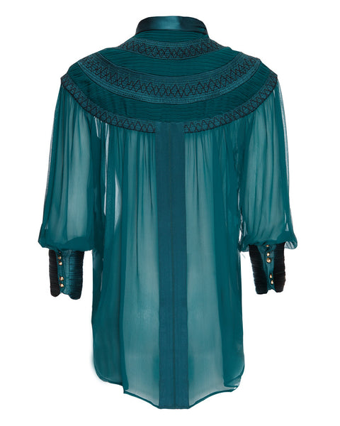 BELGRAVIA SILK BLOUSE - Richards Radcliffe - 4