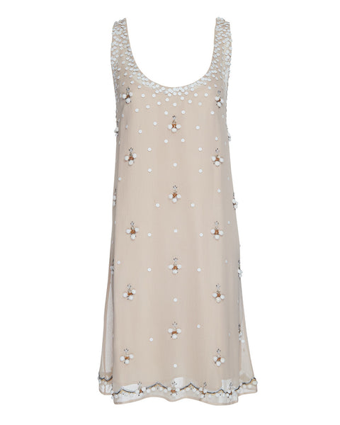 BLOOMSBURY HAND BEADED DRESS