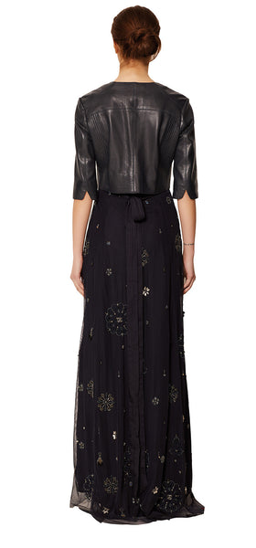 MAIDA HAND BEADED MAXI DRESS