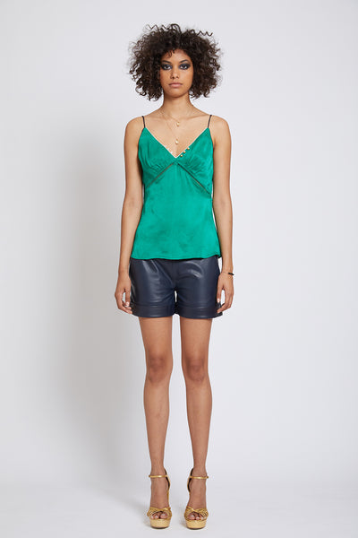 CLERKENWELL PIPED CADY CAMISOLE
