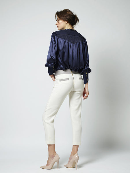 BRIGHTON SILK BLOUSE - Richards Radcliffe - 6