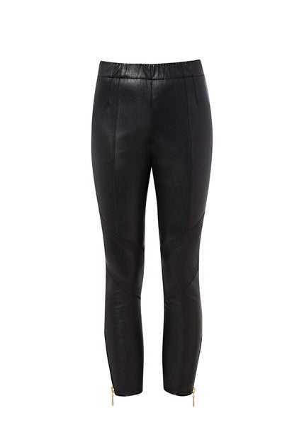 PUTNEY STRETCH LEATHER TROUSER