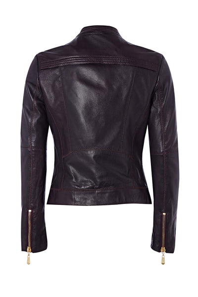 SHOREDITCH LEATHER JACKET - Richards Radcliffe - 4