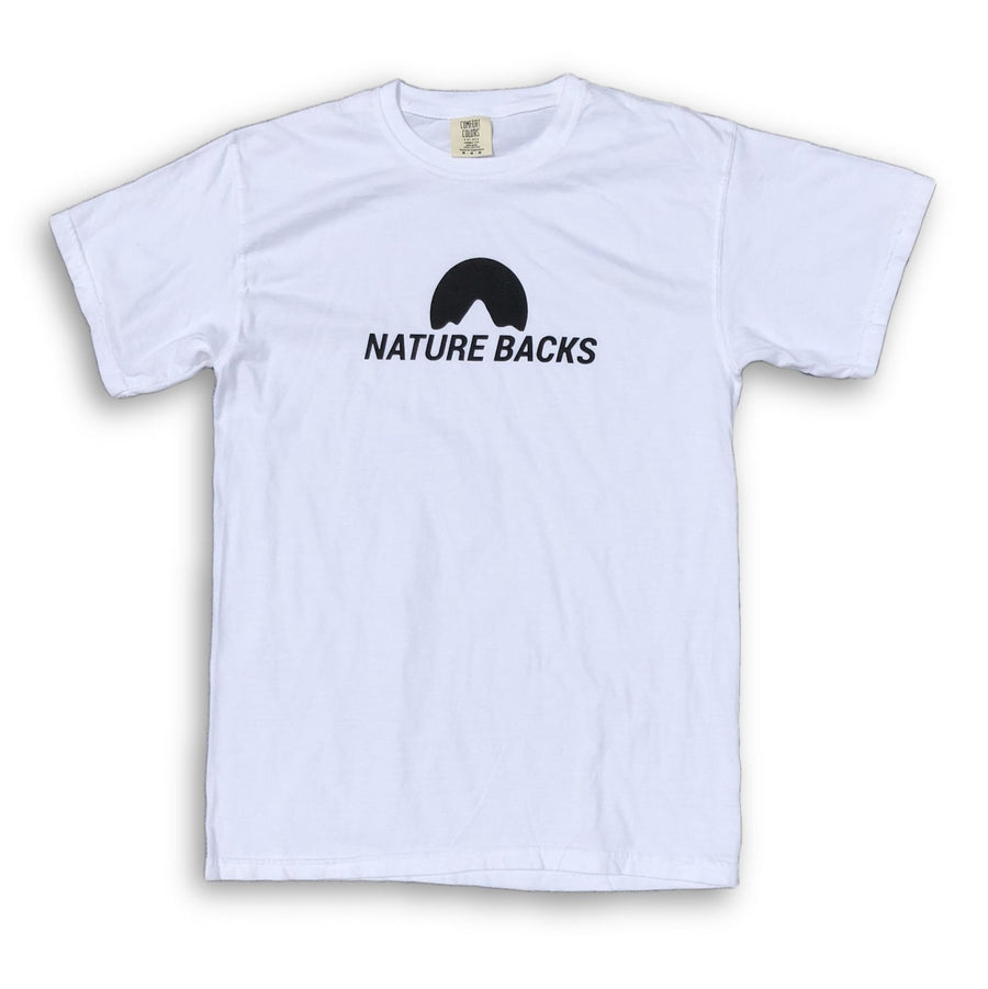 Nature Backs White Tee