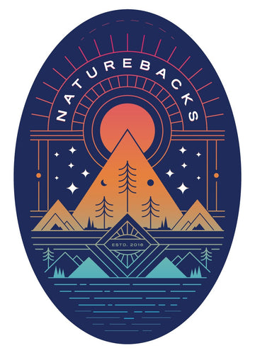 Journey Stickers 🌅 - Nature Backs