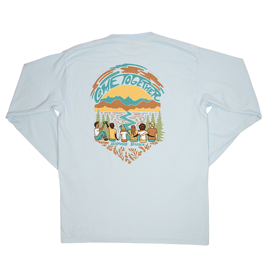 Come Together Long Sleeve (Azure)