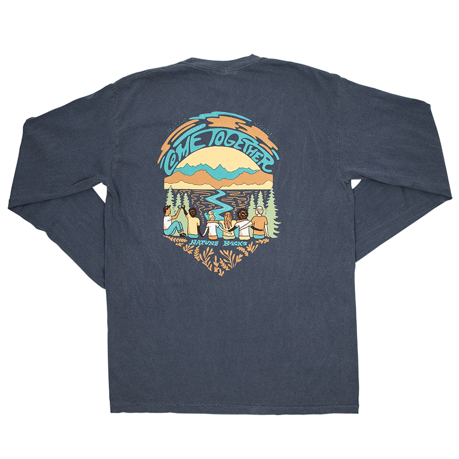 Come Together Long Sleeve (Ocean)